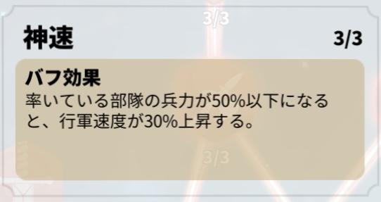 RISE OF KINGDOMS(ライキン) / 行軍速度